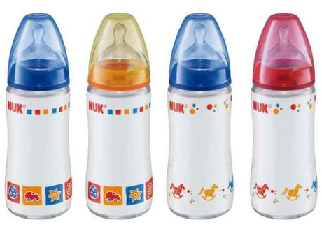 NUK 240ml Glas-Bottle First Choice Silicone 2012 - 大图像
