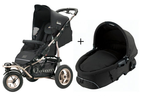 Quinny Freestyle 3XL Comfort pushchair + Dreami Black 2013 - 大图像