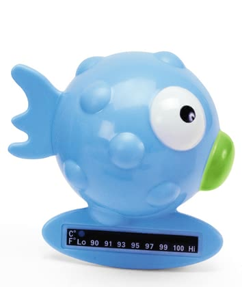 Chicco Bath Thermometer Globe Fish, Light Blue 2012 - 大图像