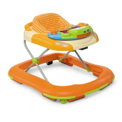 Chicco D@nce Baby Walker, Happy Orange - 大图像