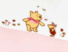 Zöllner Applikations-Bettwäsche Adorable Pooh Girl - 大图像 2
