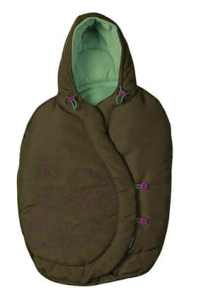 Maxi Cosi footmuff for Baby car seat Pebble 2011, Dark Olive - 大图像