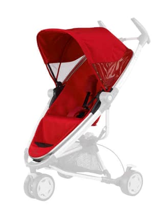 Quinny Zapp Xtra Seat, Rebel Red - 大图像