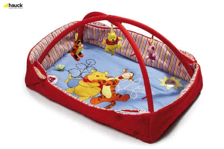 Hauck Activity Center 2 in 1, Pooh lets be Friends red - 大图像