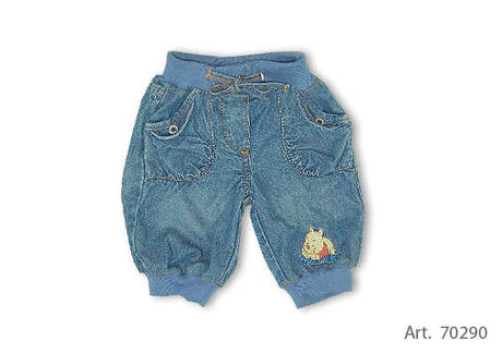 Baby Summer Jeans Pants, Winnie the Pooh - 大图像
