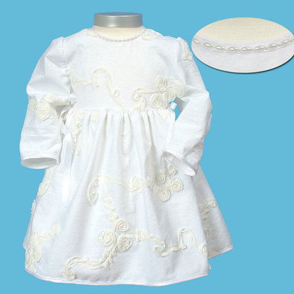 Baby-Staab dress, off-white - 大图像