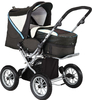 Knorr Nizza Air pushchair 2012 660-brown-wood - 大图像 2