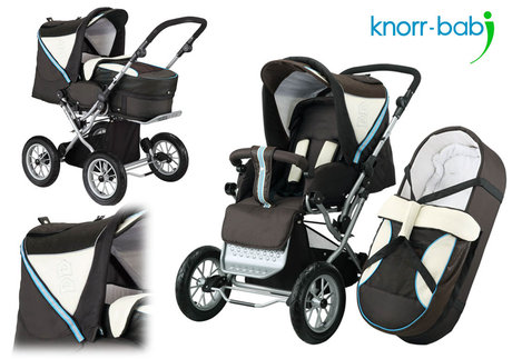 Knorr Nizza Air pushchair 2012 660-brown-wood - 大图像