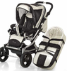 Knorr pushchair Alu Fly Swing 2012 999-offwhite - 大图像 3