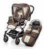 Knorr pushchair Alu Fly S click off 2012 970-sand-stone-green - 大图像 3
