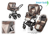 Knorr pushchair Alu Fly S click off 2012 970-sand-stone-green - 大图像 1