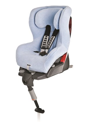 Britax Römer King Plus / Safefix Plus 夏天椅套,浅蓝色 Blau - 大图像