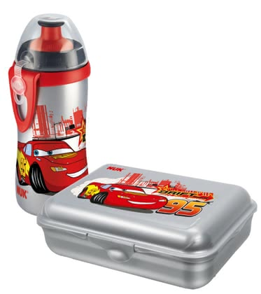 NUK  Lunch Box & Cup Set Disney  Cars, BPA-free - 大图像
