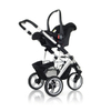 ABC Design Cobra incl. sport seat and hard carrycot 2012 sand-dark brown - 大图像 3