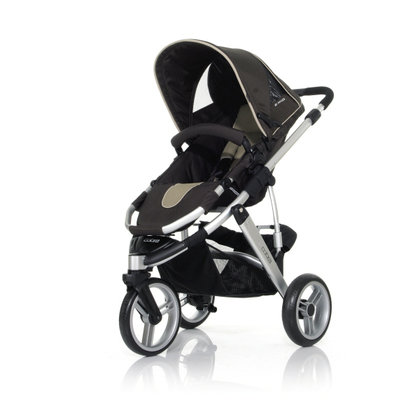 ABC Design Cobra incl. sport seat and hard carrycot 2012 sand-dark brown - 大图像