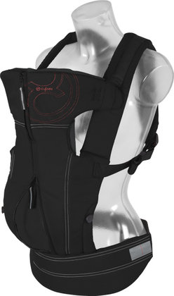 Cybex baby carrier 2. GO 2012 Pure Black-black - 大图像