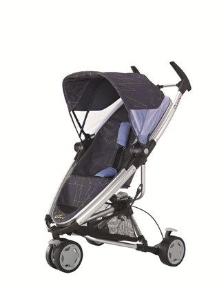 Quinny Buggy Zapp Xtra 2012 Graphic Purple - 大图像