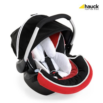 Hauck Babyschale Zero Plus Select 婴儿提篮 Red_ Black 2016 - 大图像