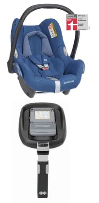Maxi-Cosi Cabriofix 带底座 FamilyFix Essential Blue 2020 - 大图像