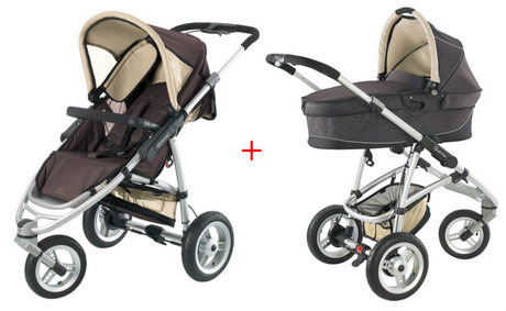 Quinny Speedi stroller 2012 + Dreami Fudge - 大图像