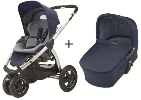 Maxi Cosi Mura 3 2012 incl. carrycot Dress blue - 大图像