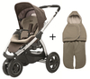 Maxi Cosi Mura 3 2012 incl. footmuff Walnut brown - 大图像 1