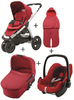 Maxi Cosi Mura 3 2012 Comfort Set (carrycot + footmuff) Intense red - 大图像 1