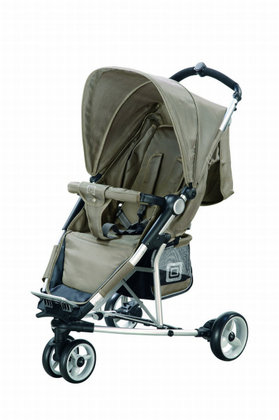 Babywelt Moon Buggy Fit 2012 Mud Silver - 大图像
