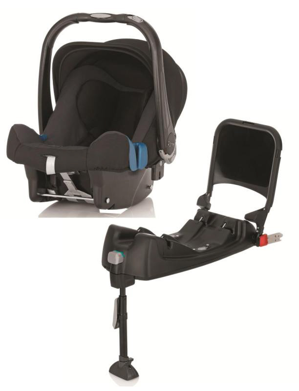 britax r mer babyschale baby safe plus shr ii isofix base 2015 black thunder kidsroom. Black Bedroom Furniture Sets. Home Design Ideas