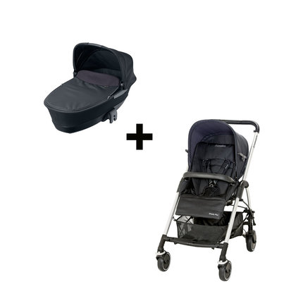 Maxi Cosi Streety plus Set Total Black 2013 - 大图像