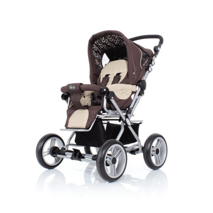ABC Design Pramy Luxe incl. carrycot 3in1 crispy 2013 - 大图像