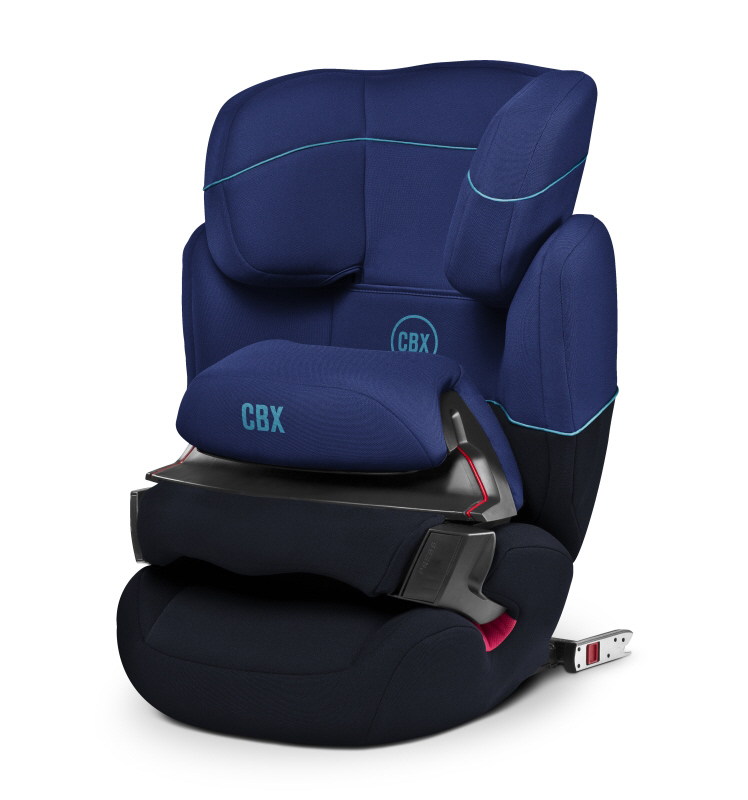 cbx by cybex aura fix isofix 2018 blue. Black Bedroom Furniture Sets. Home Design Ideas