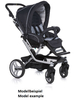 Teutonia Pushchair Mistral S Made for You 4800_Gala Black 2013 - 大图像 2