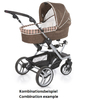 Teutonia Pushchair Mistral S Made for You 4800_Gala Black 2013 - 大图像 3