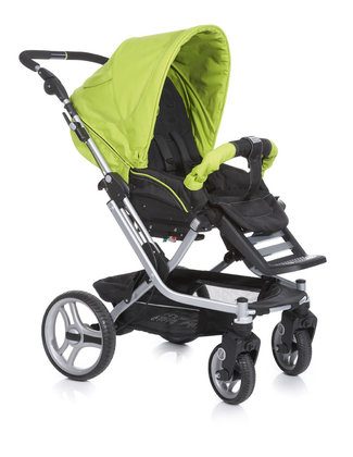 Teutonia Pushchair Mistral S Active & Dynamic 4960_Fresh Green 2013 - 大图像