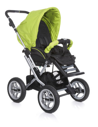Teutonia Pushchair Mistral P Active & Dynamic 4960_Fresh Green 2013 - 大图像