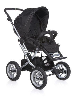 Teutonia Pushchair Mistral P Active & Dynamic 4970_Black Motion 2013 - 大图像