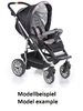 Teutonia Pushchair Fun System Made for You 4800_Gala Black 2013 - 大图像 2