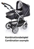 Teutonia Pushchair Fun System Made for You 4800_Gala Black 2013 - 大图像 3