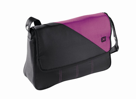 Babywelt changing bag Black & Pink 2013 - 大图像