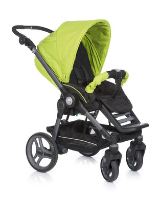 Teutonia BeYou! Active & Dynamic + carrycot Comfort Plus 4960_Fresh Green 2013 - 大图像