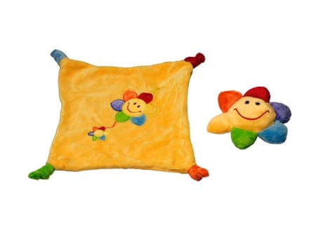 Sunkid rattle figure and cuddle cloth 2014 - 大图像