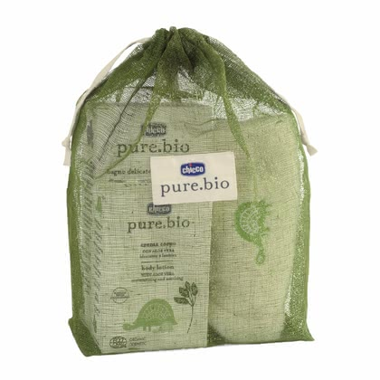 Chicco pure.bio Baby Natural Set, in cotton-bag 2014 - 大图像