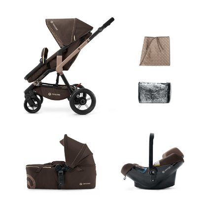 Concord Wanderer Mobility-Set 童车组合 Chocolate Brown 2016 - 大图像