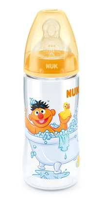 NUK Sesamstrasse FIRST CHOICE+ 婴儿奶瓶300毫升 gelb 2015 - 大图像