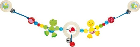 Goki stroller chain Duck and Frog 2016 - 大图像