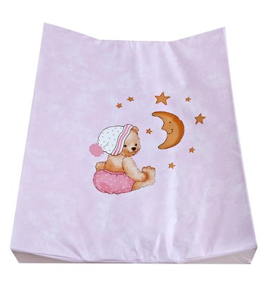 Zöllner Double-wedge changing mat Cuddly Bear, pink 2016 - 大图像