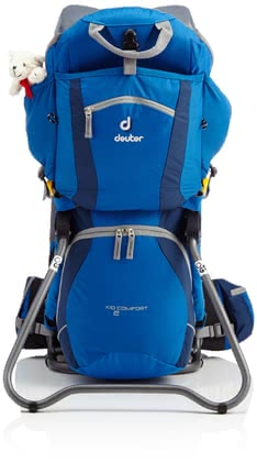 Deuter Kindertrage kid comfort 2 in ocean-midnight 2016 - 大图像