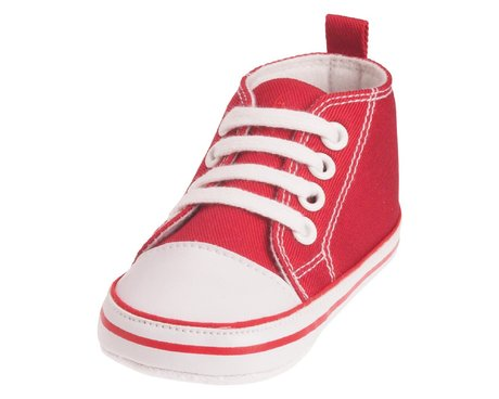 Playshoes Baby-Turnschuh in vielen Farben rot 2016 - 大图像
