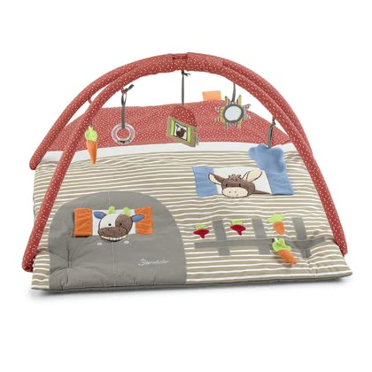 Sterntaler Crawling Blanket with Play Bar - *